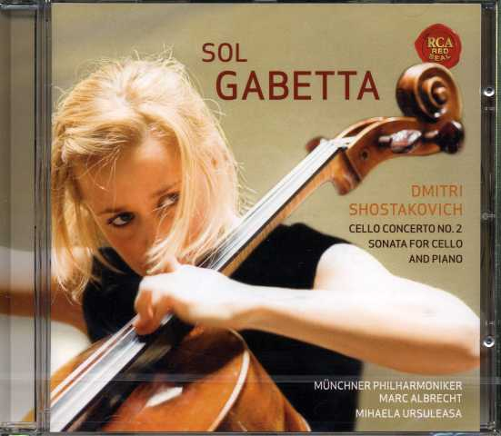 Dmitri Shostakovich / Cello Concerto no. 2 / Cello Sonata / Sol Gabetta