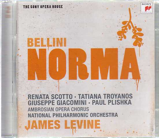 Vincenzo Bellini / Norma / Renata Scotto Tatiana Troyanos / National Philharmonic Orchestra / James Levine