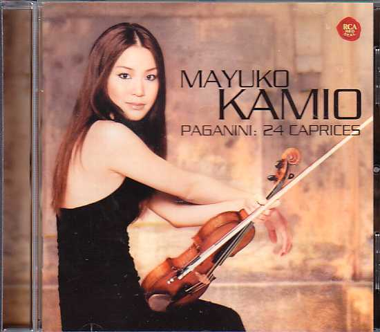 Niccolò Paganini / 24 Caprices for Solo Violin / Mayuko Kamio