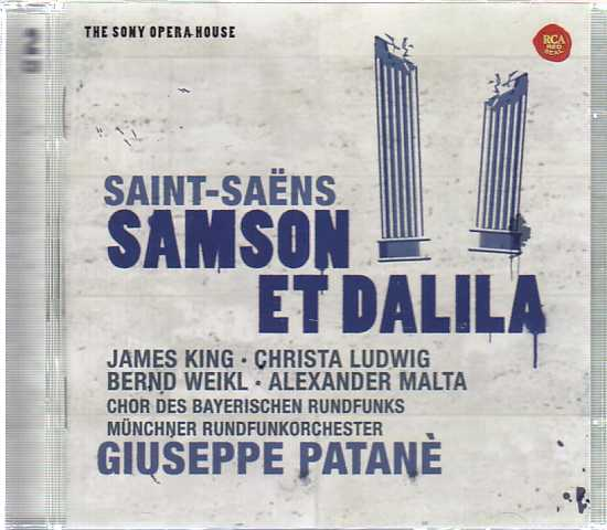 Camille Saint-Saëns / Samson et Dalila / Christa Ludwig / James King / München Rundfunkorchester / Giuseppe Patanè