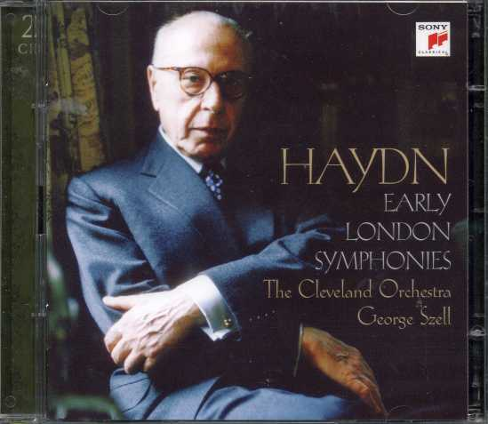 Joseph Haydn / Early London Symphonies / The Cleveland Orchestra / George Szell 2CD