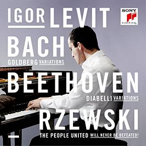 J.S. Bach / Goldberg Variations / Ludwig van Beethoven / Diabelli Variations / Frederic Rzewski / The People United Wil Never Be Defeated! // Igor Levit
